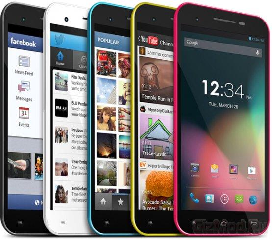 """Бюджетный 5,5"""" смартфон Blu Studio 5.5"""