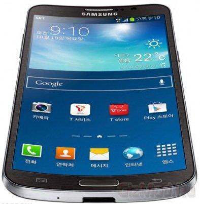 Samsung показала изогнутый смартфон Galaxy Round