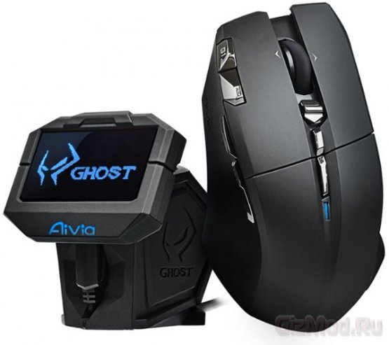 Gigabyte пристроила дисплей к мыше Aivia