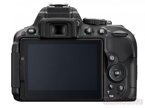 Зеркалка Nikon D5300 формата DX с Wi-Fi и GPS