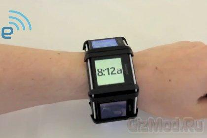 Nokia подала патент на компьютер-браслет