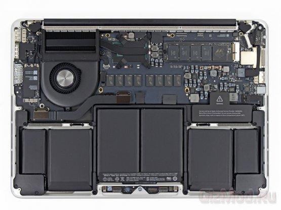 iFixit заглянули в новый MacBook Pro