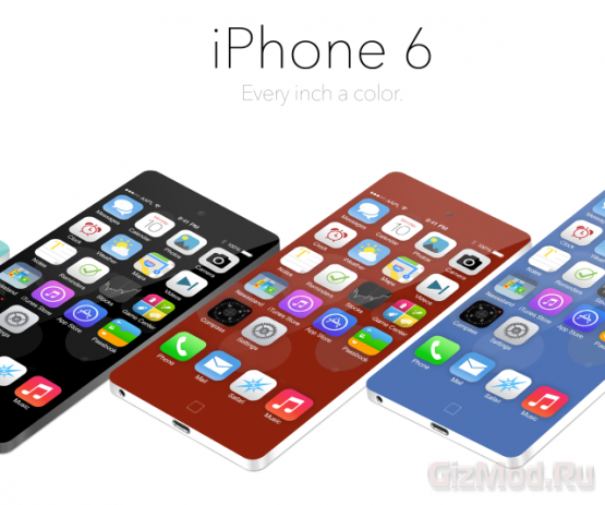iPhone 6 прогнозируют с 5-дюймовым Full HD-дисплеем