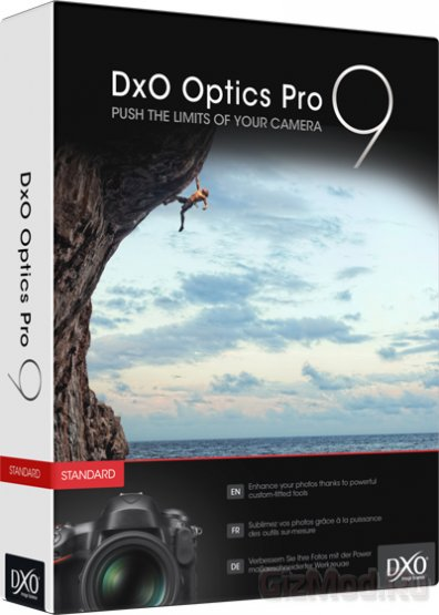 DxO Optics Pro 9.0.0.1394 Elite - обработка RAW изображения