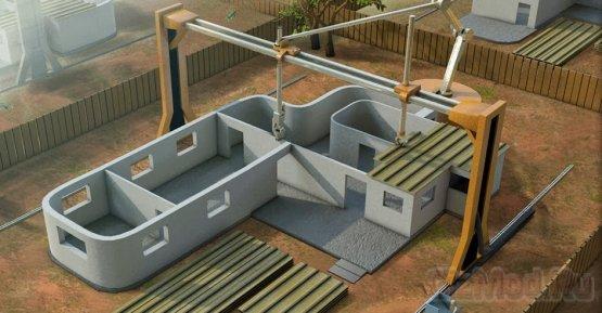 3D-принтер применим для строительства жилых домов