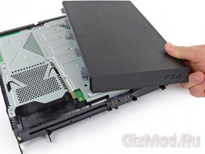 "Sony Playstation 4 под ""скальпелем"" iFixit"