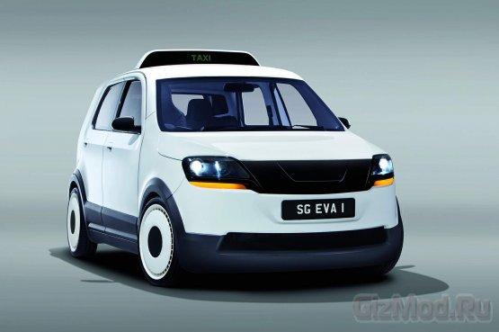 Электро такси EVA заряжается за 15 минут и едет 200км