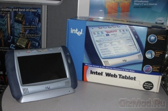 IPAD от Intel появился раньше, чему от Apple