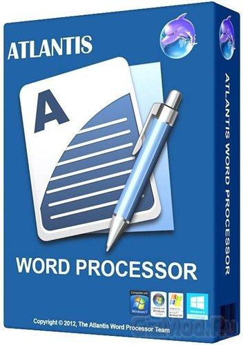 Atlantis Word Processor 1.6.6.1 - текстовый редактор