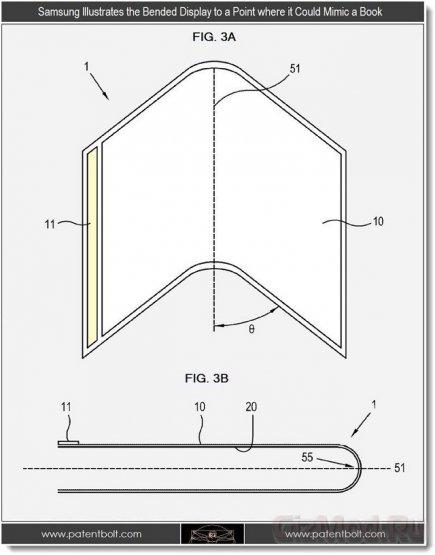Samsung показала складной дисплей