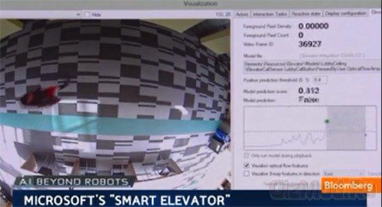 Умный лифт от Microsoft Research