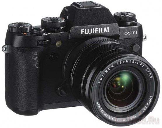 Fujifilm представила беззеркальную камеру X-T1
