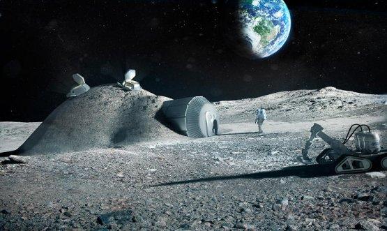 Напечатать базу на Луне вполне реально