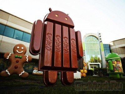 Новые смартфоны будут с последней версией Android