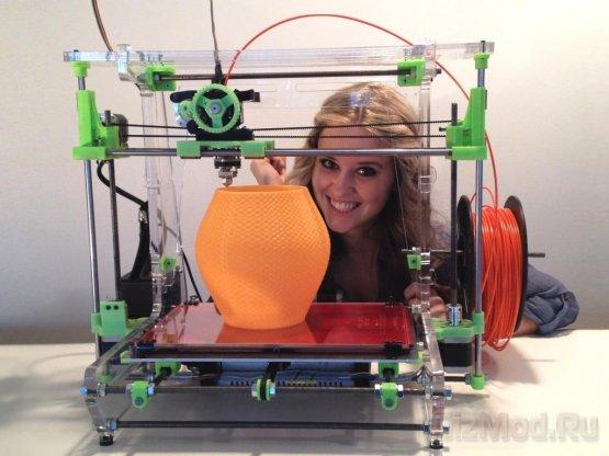3D-принтер: до чего техника дошла!