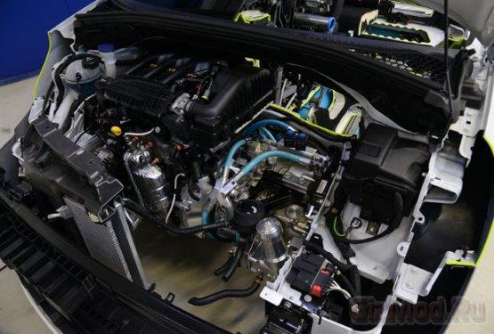 Проект автомобиля Peugeot на сжатом воздухе