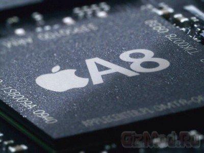 TSMC начала производство процессоров Apple A8