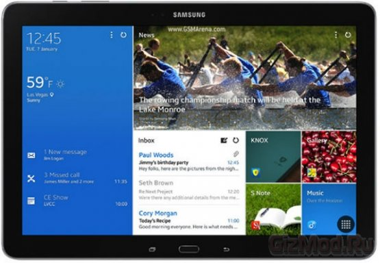 У Samsung появится планшет с экраном 2K