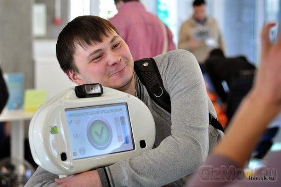 Робот Webot - рожденный в Сколково