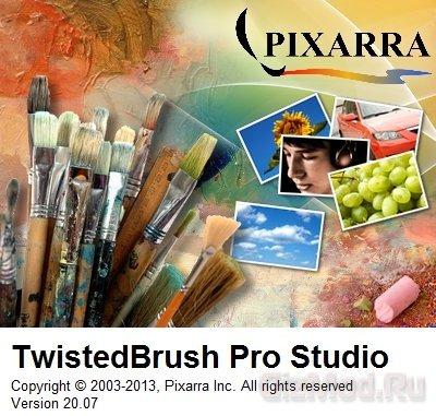 TwistedBrush Pro Studio 20.07 - как нарисовать картину