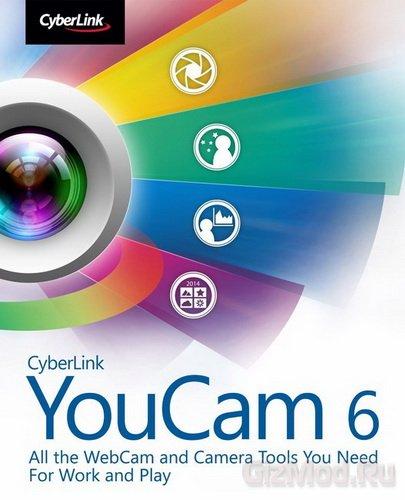 CyberLink YouCam Deluxe 6.0.2712 Final - украшение веб-камеры