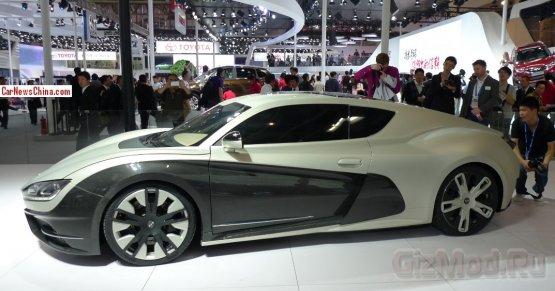 Китайский электро-спорткар Event - ответ Tesla Model S