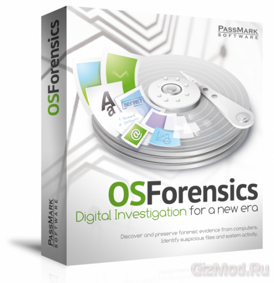 PassMark OSForensics Professional 3.0 Build 2 Beta - анализ данных