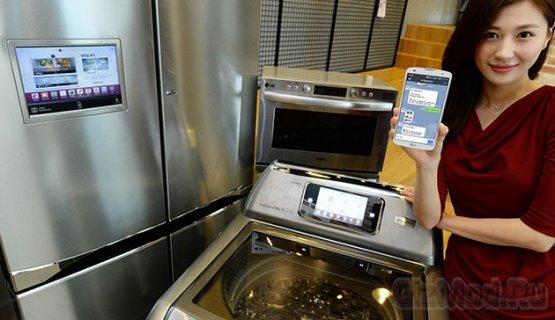 Общение с холодильником