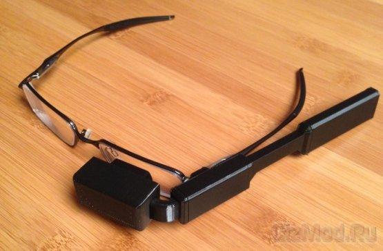 Raspberry Pi очки - 100$-я альтернатива Google Glass