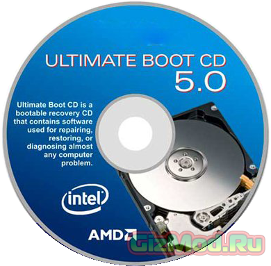 Ultimate Boot CD 5.3.0 - многофункциональный реаниматор ПК