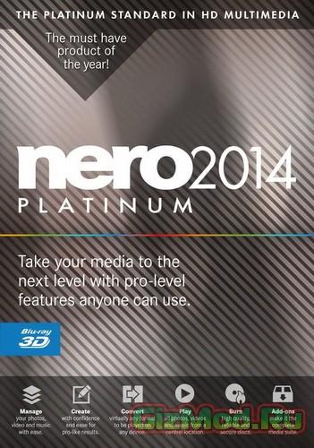 Nero 2014 Platinum 15.0.0850 Final - лучший комбайн для записи дисков.