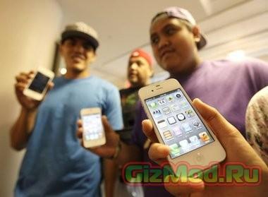 iPhone покупают, чтобы обозначить статус