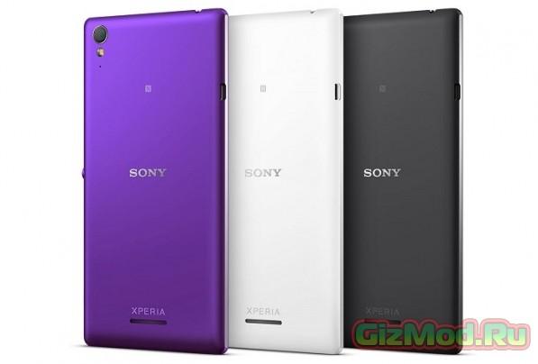 Sony Xperia T3 самый тонкий 5.3 дюймовый смартфон