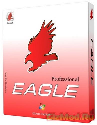 CadSoft Eagle Pro 6.6.0 Final - дизайнер печатных плат