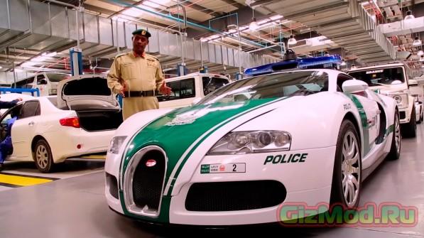 В Дубаях самые быстрые полицейские автомобили