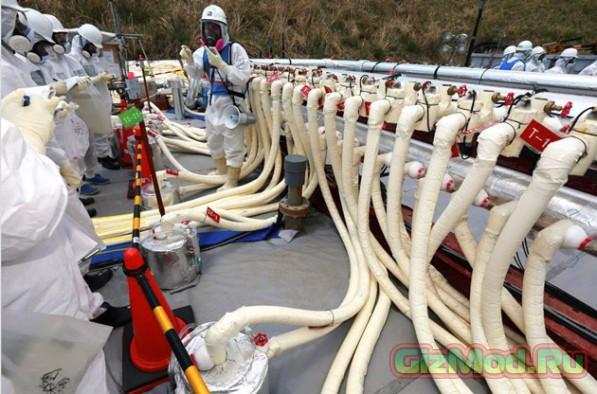 Япония строит огромную ледяную стену возле Фукусимы