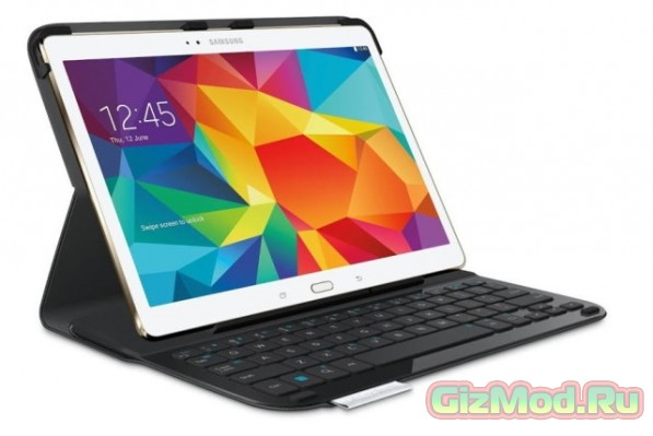 Type-S чехол-клавиатура Logitech для Galaxy Tab S