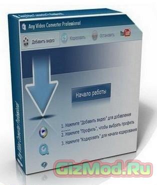 Any Video Converter Free 5.6.3 - удобный и бесплатный конвертер