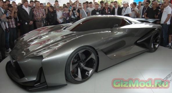 Материализованный Nissan из симулятора Gran Turismo 6