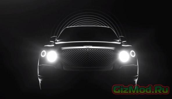 Новый внедорожник Bentley стоимостью свыше $ 220 000
