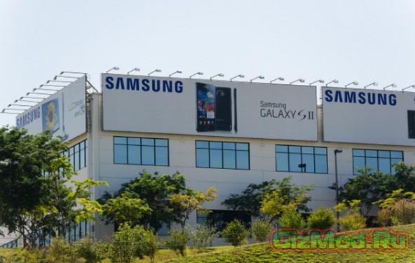 40,000 устройств утащили из фабрики Samsung