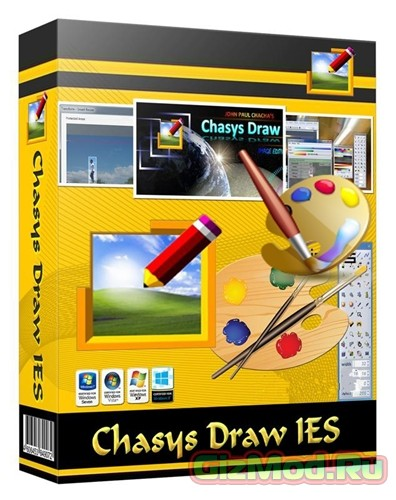 Chasys Draw IES 4.24.01 - графический редактор
