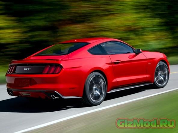 Обновленный красавец Ford Mustang 2015