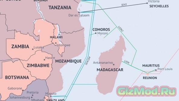 Это интересно: карта подводных интернет-кабелей мира