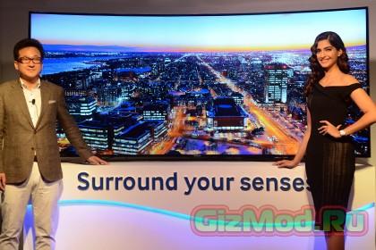 Samsung запускает в продажу телевизор с изменяемой формой