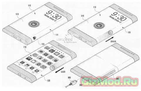 """""""Облегающие"""" дисплеи для смартфонов Samsung"""