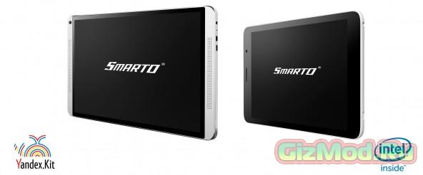 Яндекс-планшеты Smarto 3GD52i и 3GDi10