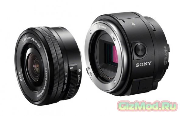 Sony QX1 и QX30 – делаем зеркалку из любого смартфона