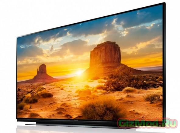Представлен 85-дюймовый Ultra HD телевизор Panasonic X940