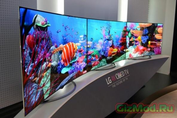 65-дюймовый Ultra HD OLED телевизор LG за 7000 $